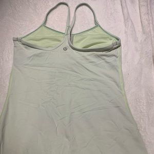lululemon athletica Tops - Lululemon Power Y tank size 6 light green